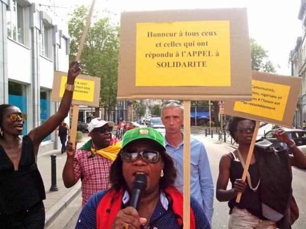 Bernadette Ngonob en tête de file contre Boko-Haram !