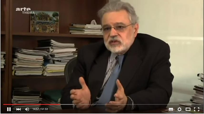 Cette vidéo de jean Pierre Carlon difusée sur ARTE présente l'arnaque de la dette