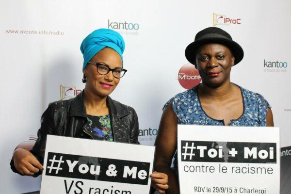 Ammouna et Monique Mbeka Phoba, cinéaste, ensemble contre le racisme