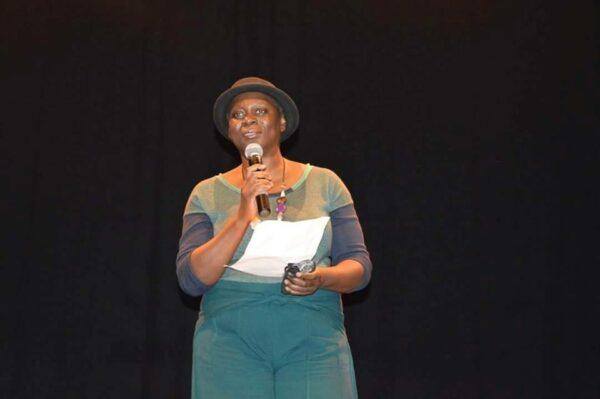 Monique Mbeka Phoba, marraine de l'événement et directrice de la programmation