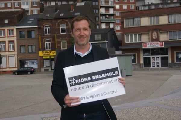 Paul Magnette, Ministre Président de la Région Wallonne et Bourgmestre de la ville d eCharleroi