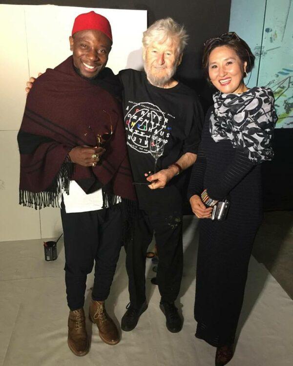 Esther Lee ( art manager ) et Achim Freyer / Vogue Event