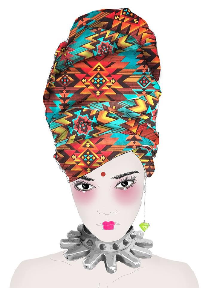 ethno tendance fashion week
