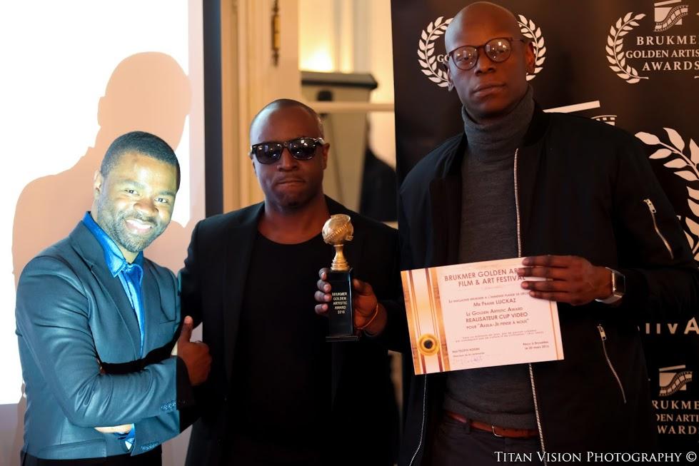 frank luckaz aux golden artistic awards