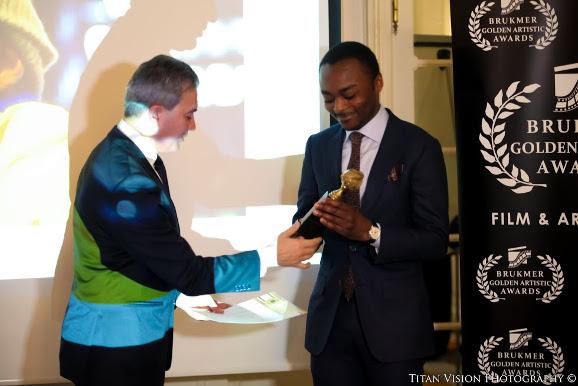 zinga marc aux golden artistic Awards