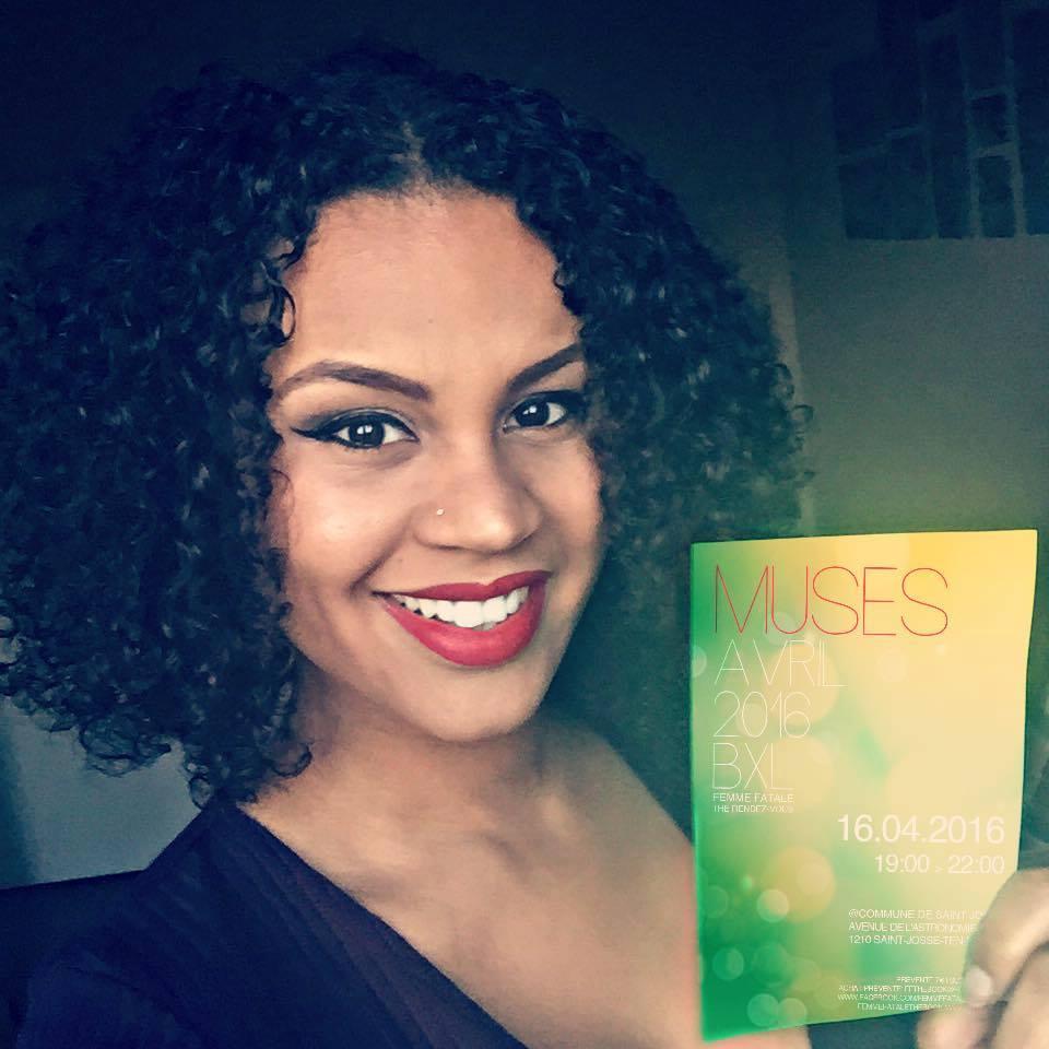 alicia Eyongo, responsable du magazine femme-fatale-the book