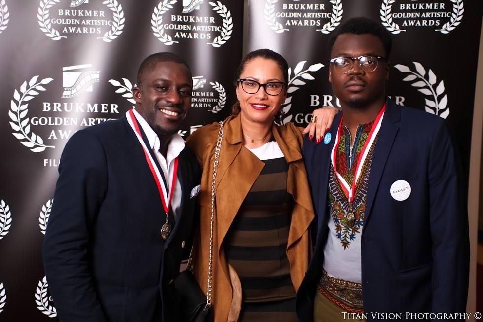ammouna Avec Kody et Badi, aux Brukmer Golden Artistic Awards
