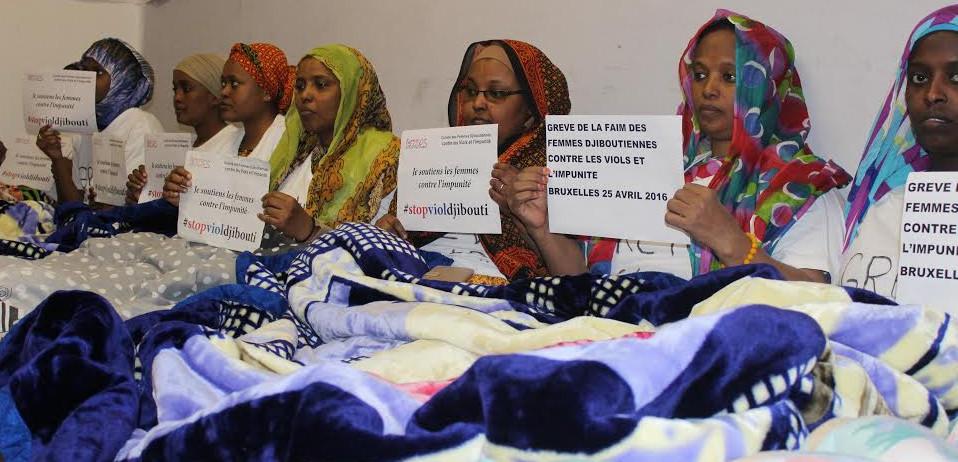 femmes djiboutiennes grève de la fin à bruxelles