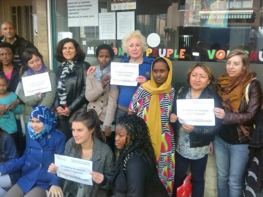 Comité de soutien aux femmes djiboutiennes à saint-josse