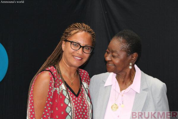 calypso rose avec Ammouna pour Brukmer Magazine
