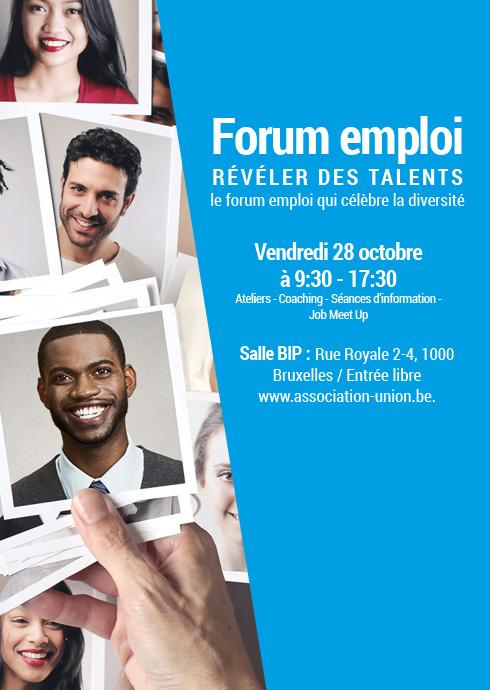 forum emploi reveler des talents de union asbl