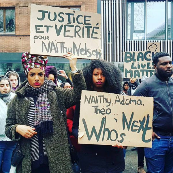 Manifestations anti raciste affaire naith
