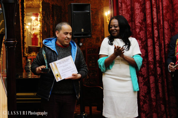 Bachir charaf, brukmer Golden artistic Awards du meilleur performeur vocal