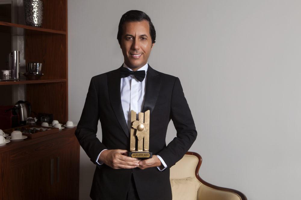 Simo BB brukmer golden artistic awards