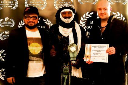 Kel Assouf aux brukmer golden artistic awards