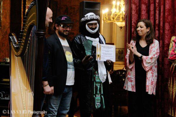 Kel Assouf, brukmer golden artistic awards du meilleur groupe world rock