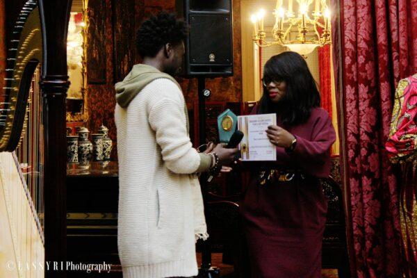 Seven brukmer golden artistic awards meilleur artiste hip hop espoir