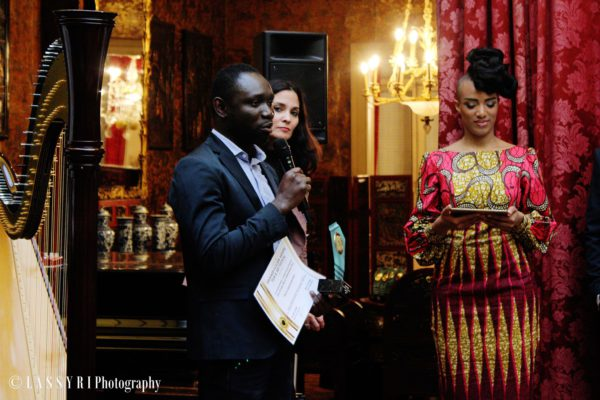 jean claude Abalo et europafrica plus, brukmer golden artistic award du meilleur web media