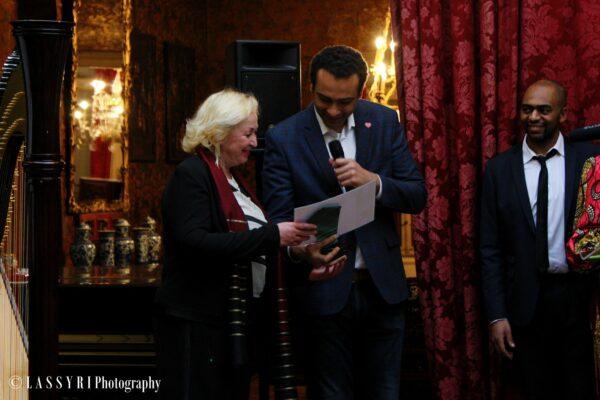 latifa gadouche brukmer golden artistic award de la véritable action féminine
