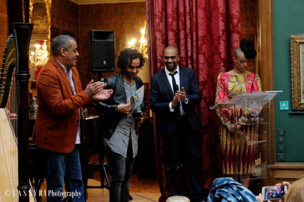 Ahaddaf Quartet, brukmer golden artistic awards de l'artiste jazz world music