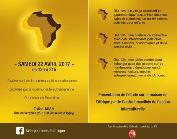 journée de l'afrique ps 2017