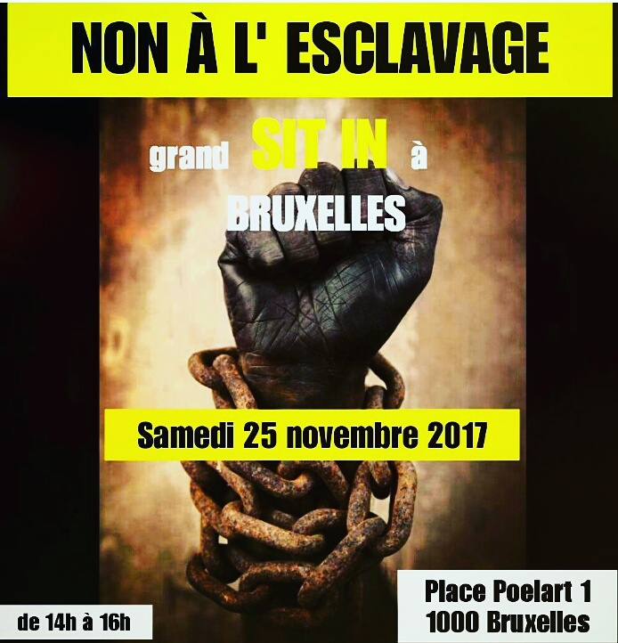 manifestation anti esclavage