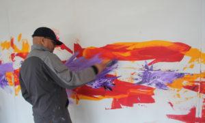 Harwan Red, peintre marocain belge