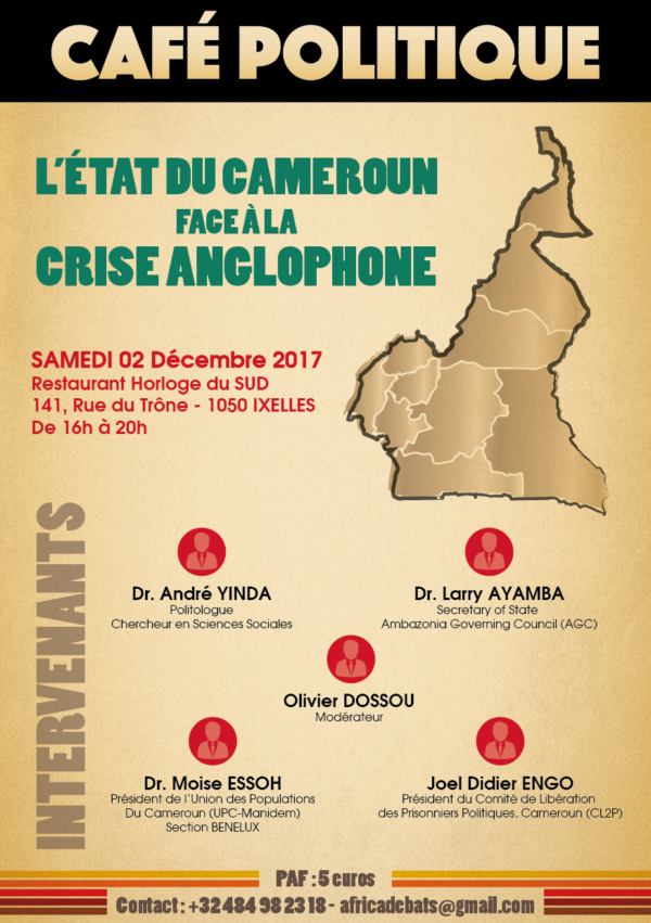conference sur le cameroun