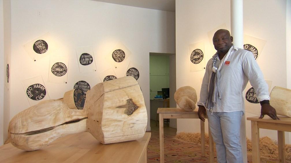 toguo barthelemy, artiste camerounais engagé