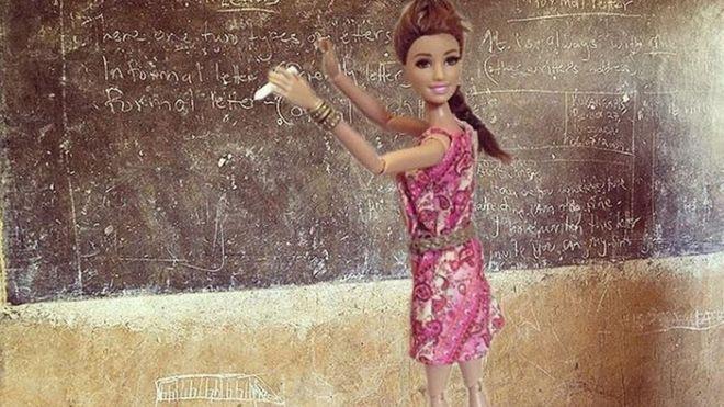 barbie sauveuse