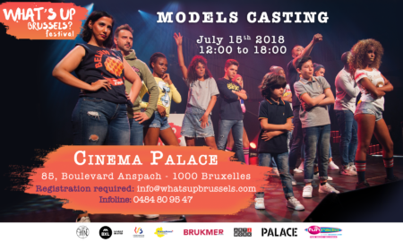 Model Casting pour watsap brussel festival