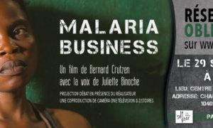 malaria Business projection 29 septembre au senghor