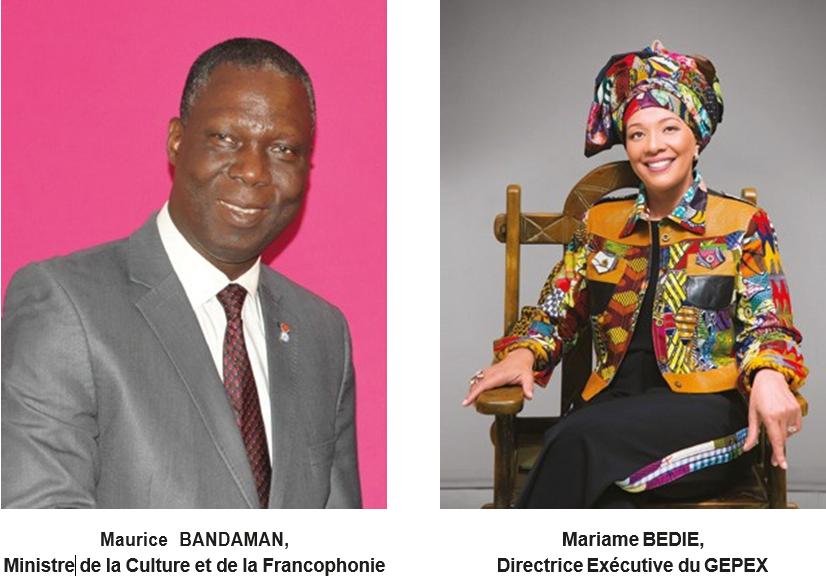 marraine et parrain du top 10 de la mode ivoirienne