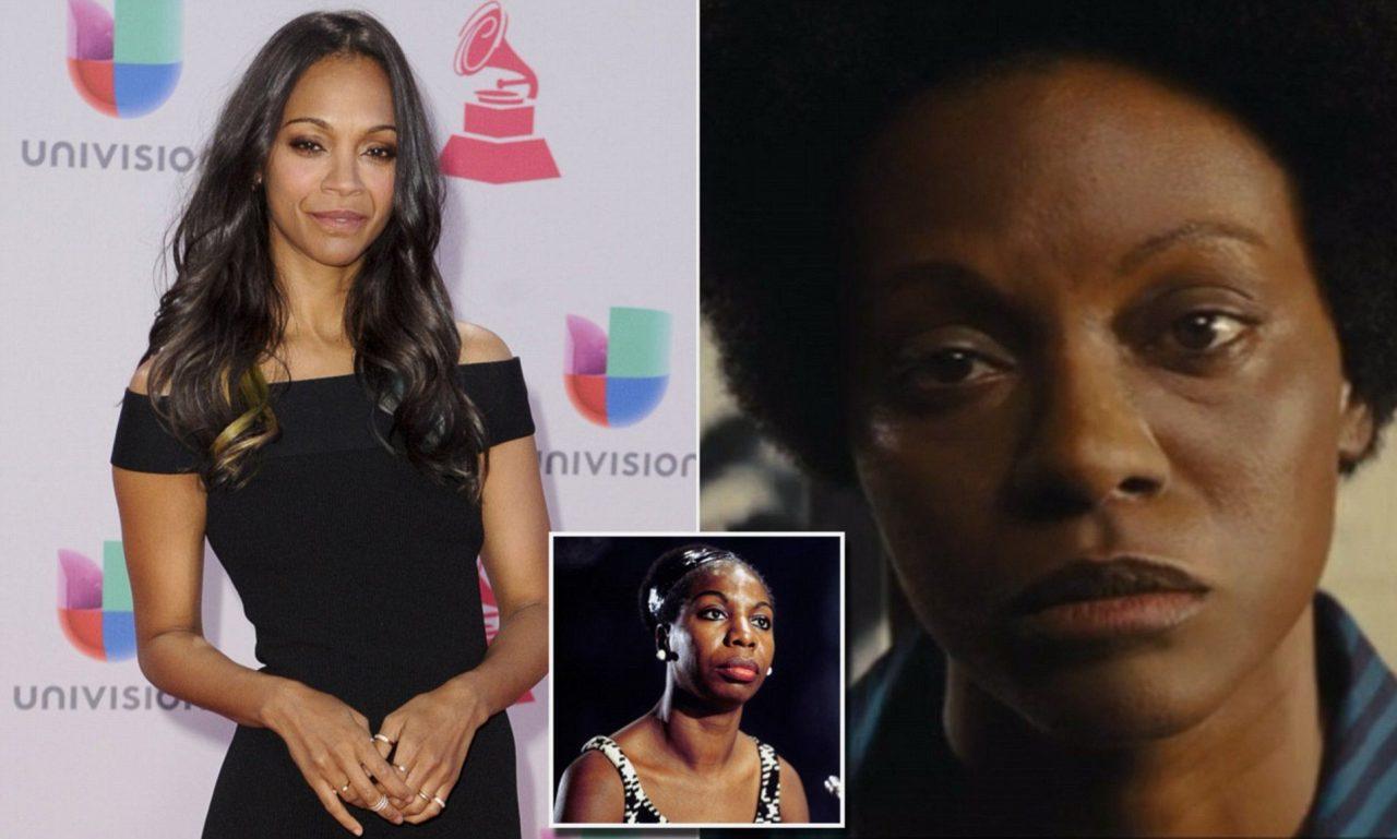 L'utilisation du blackface en 2015 sur l'actrice colombienne Zoé Zaldana