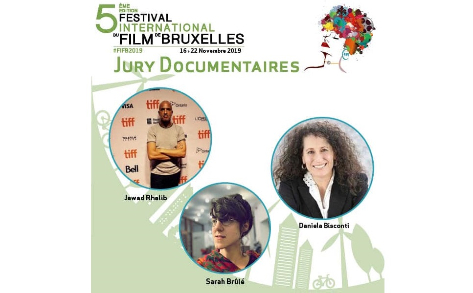 F.I.F.B (Festival International du film de Bruxelles ) Jury Documentaire