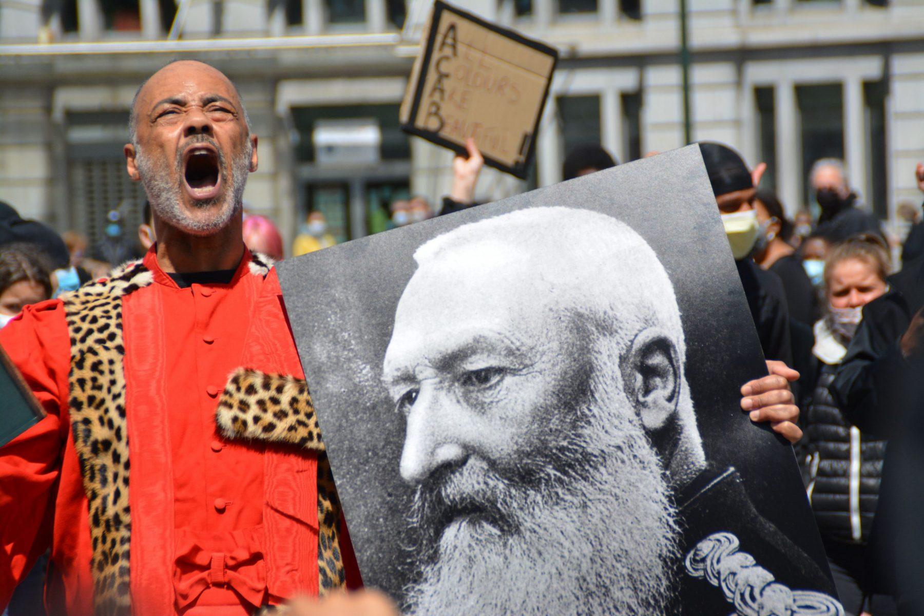 leopold II black lives matter bruxelles