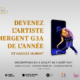coucours g3a artiste emergent